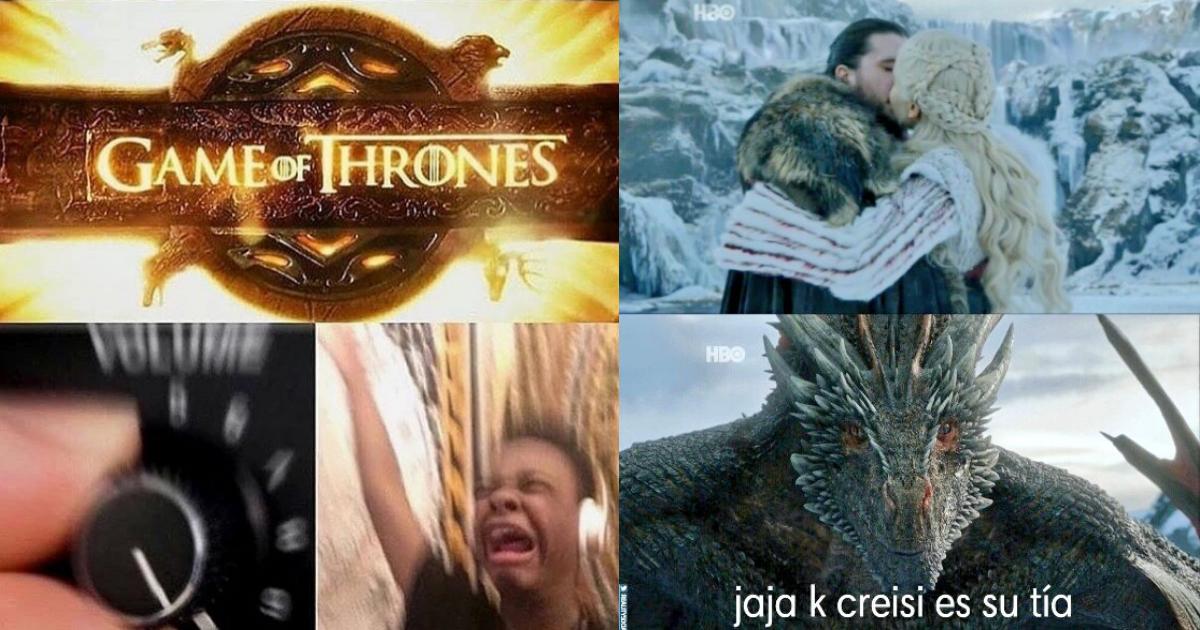 Memes De Game Of Thrones, Memes De Game Of Thrones Última Temporada, Game Of Thrones Memes, Estreno Game Of Thrones Memes, Memes, Octava Temporada