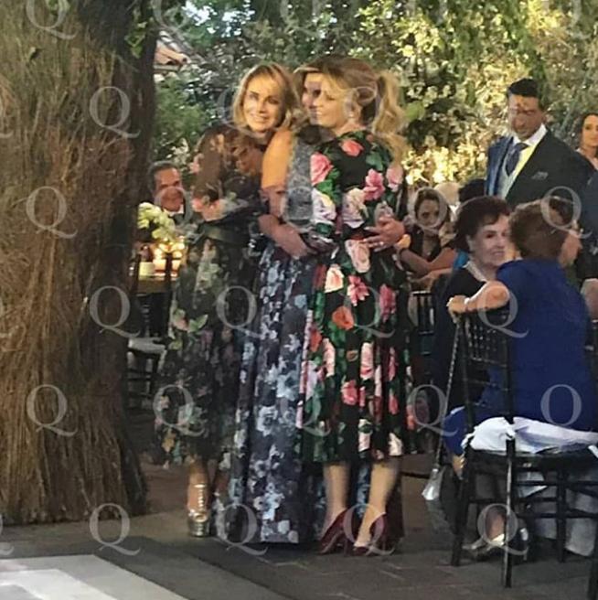 Angélica Rivera reaparece en boda tras divorciarse de Peña Nieto