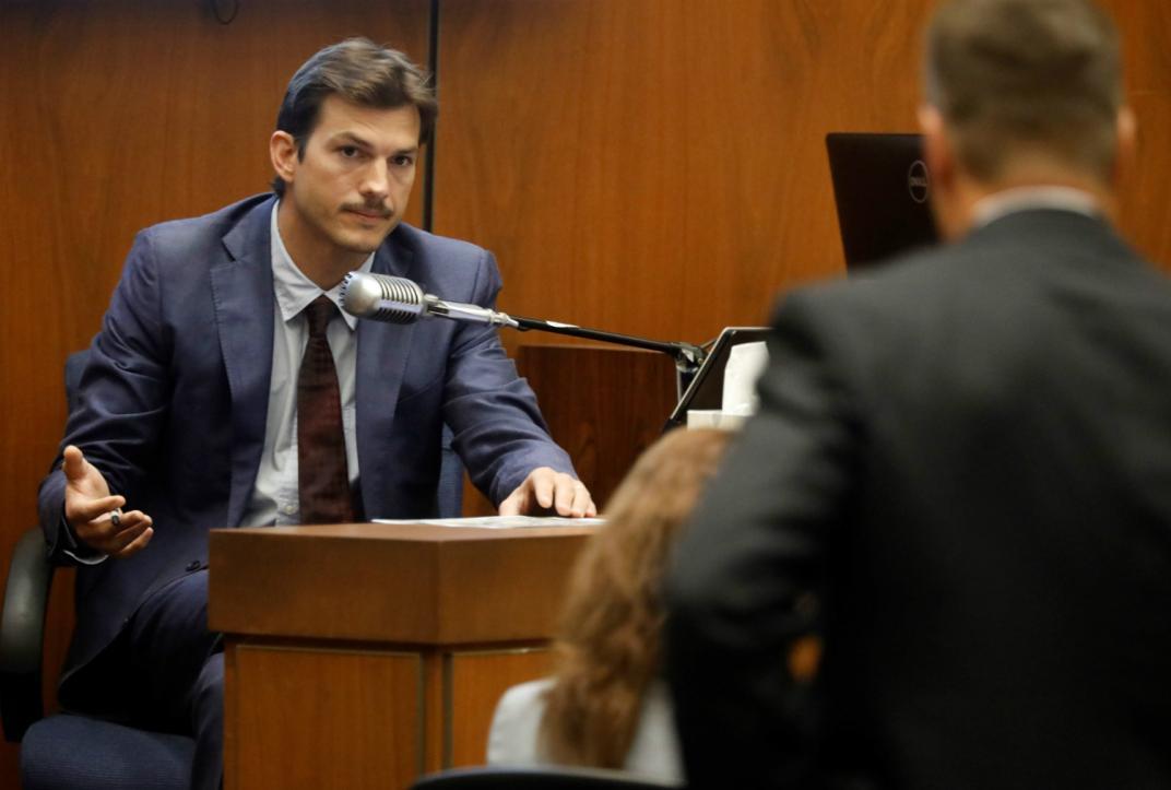 Ashton Kutcher testifica por feminicidio de Ashley Ellerin