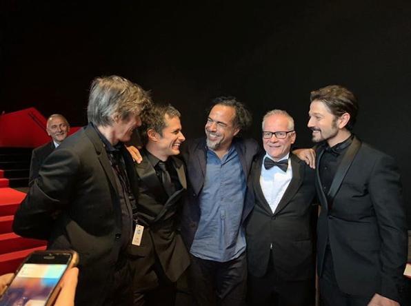 Gael García presenta su película en Cannes