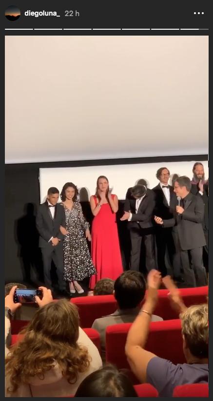 Gael García presenta su película Chicuarotes en Cannes