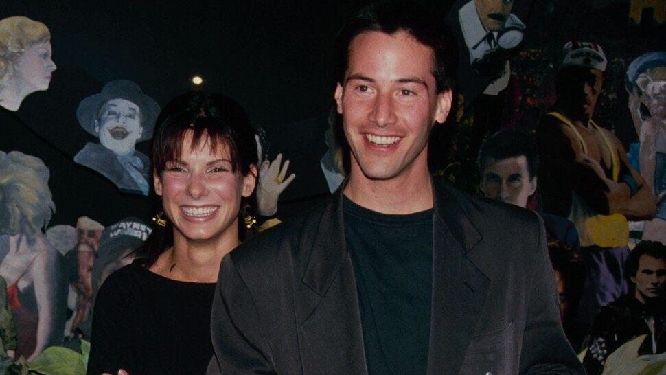 Keanu Reeves revela que tenía un crush con Sandra Bullock en Speed
