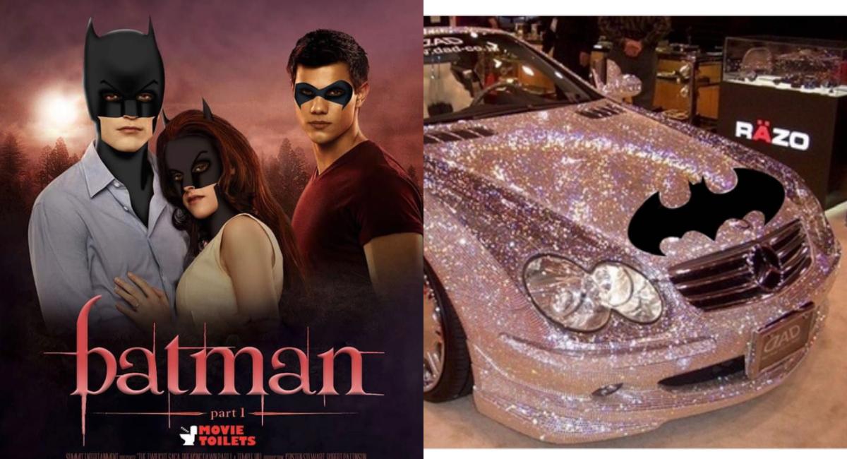 Memes de Robert Pattinson como el nuevo y flamante Batman ...