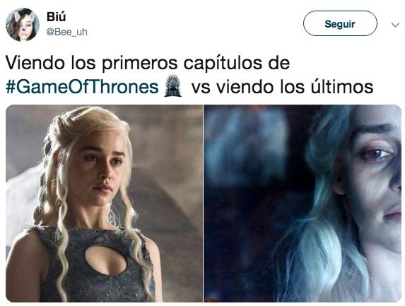 Memes del episodio 5 de la última temporada de Game of Thrones