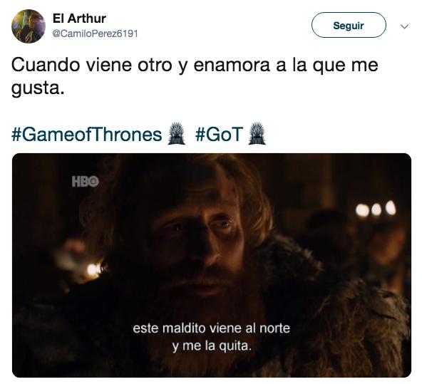 Memes del episodio 4 de Game of Thrones