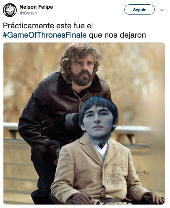 Ultimo Capítulo Game Of Thrones Memes