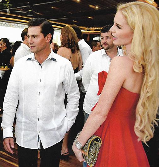 Captan a enrique Peña Nieto y Tania Ruiz paseando por Madrid