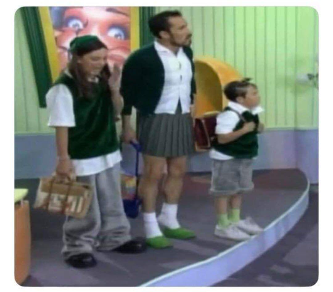 Hombres que usaban falda antes del permiso de Claudia Sheinbaum