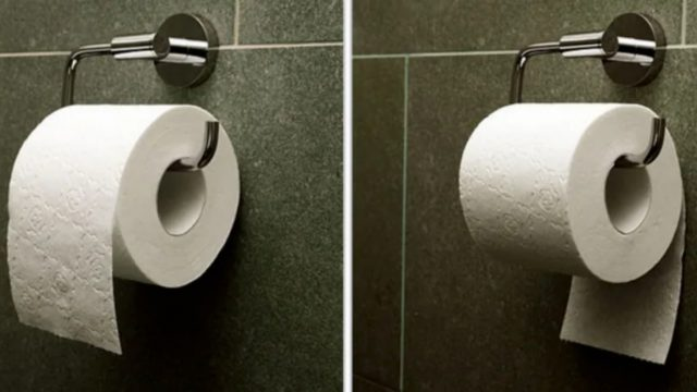 Patente indica la forma correcta de poner el papel de baño