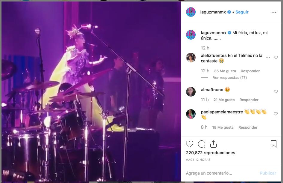 Alejandra Guzmán rompe en llanto por Frida Sofía