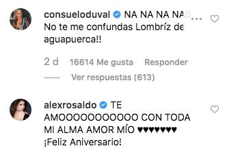 Así festejaron 7 años de casados Eugenio Derbez y Alessandra Rosaldo