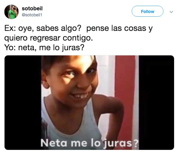 Memes Neta, me lo juras?
