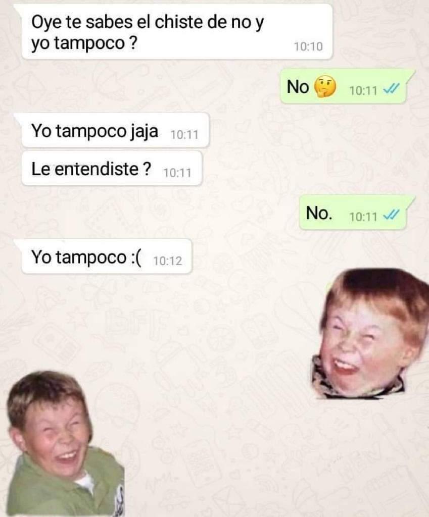 Memes del niño burlándose risa sarcástica