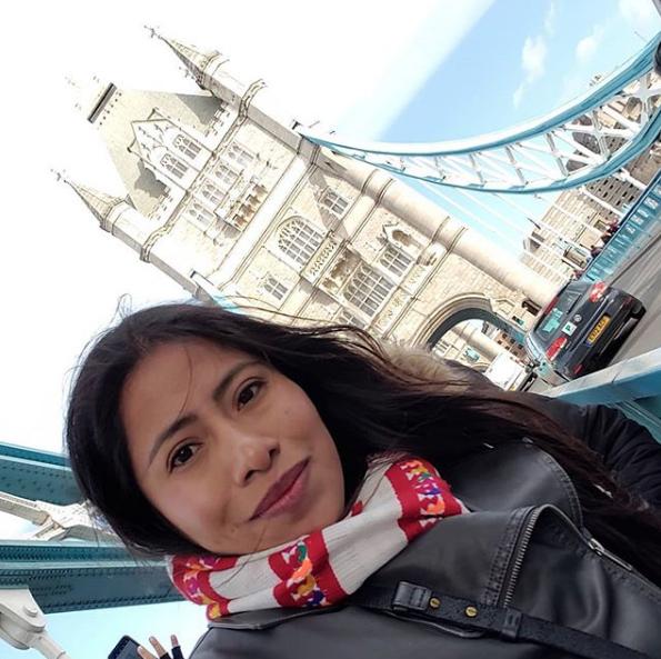 Yalitza Aparicio desmiente que quiera vivir fuera de México