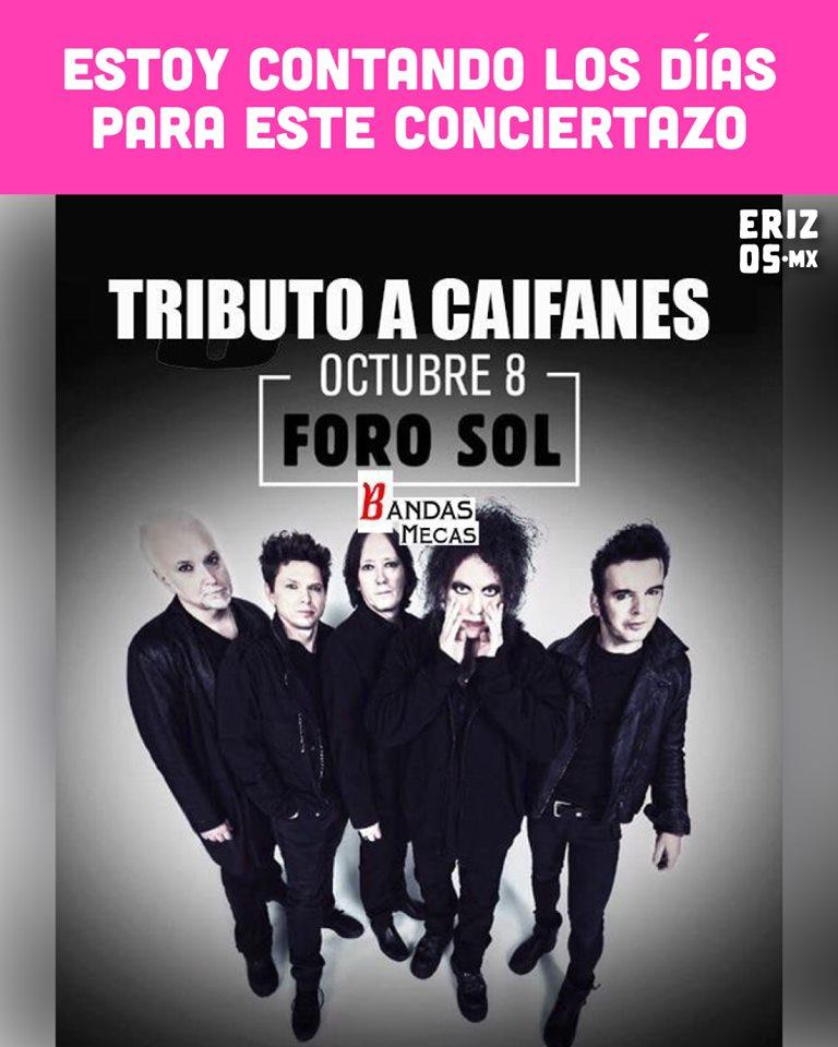 Memes por el concierto de The Cure en México