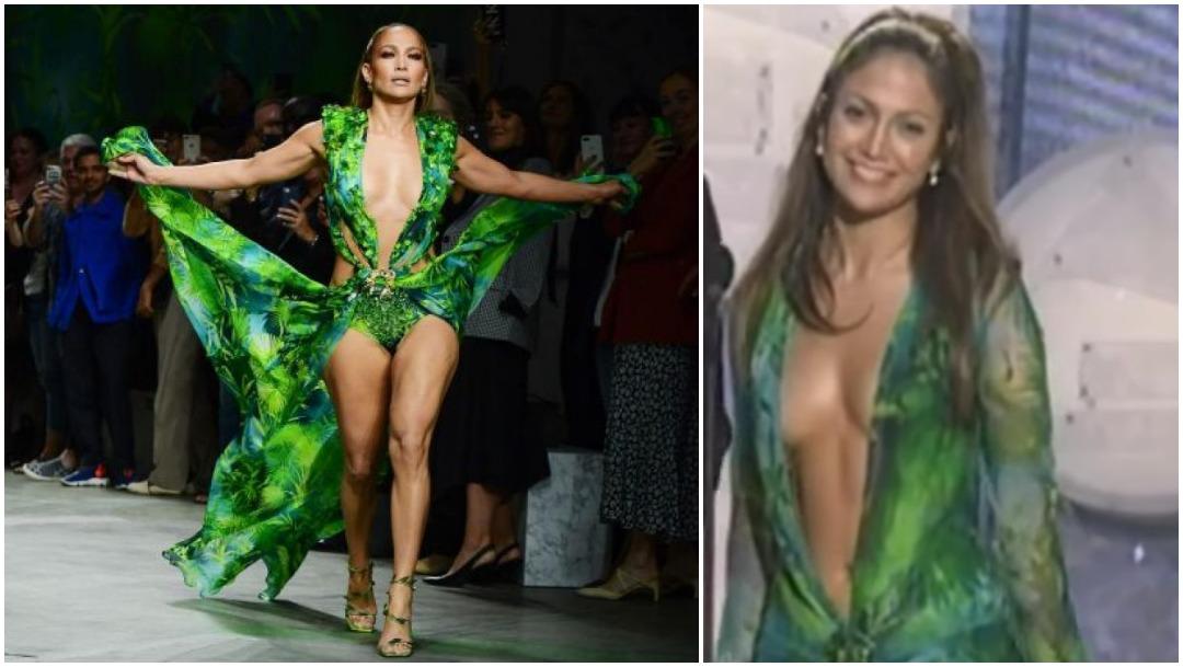 Foto Jennifer Lopez Versace 21 Septiembre 2019