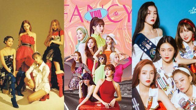 30 Girl Groups de Kpop más exitosos de la década 2010 2019