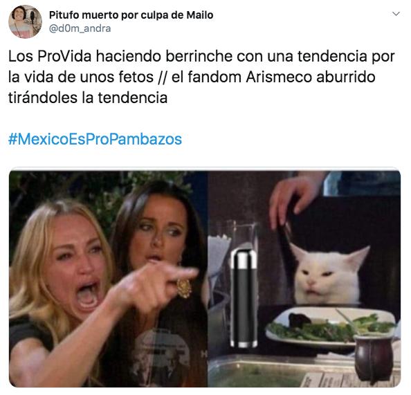 ¿Por qué México es propambazos? El hashtag que impulsaron los fans de aristemo¿Por qué México es propambazos? El hashtag que impulsaron los fans de aristemo