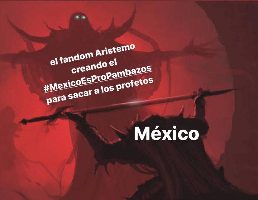 ¿Por qué México es propambazos? El hashtag que impulsaron los fans de aristemo
