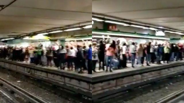 Metro, Ola Humana, La Ola, Metro CDMX, Metro CDMX Noticias, Ola En El Metro