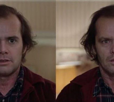 Video de Jim Carey imitando a Jack Nicholson es un DeepFake