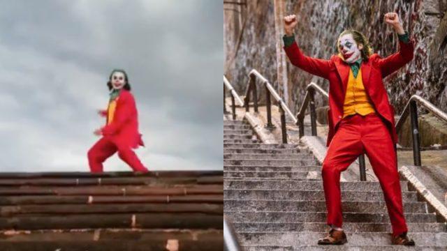 Fan joker bailando monterrey