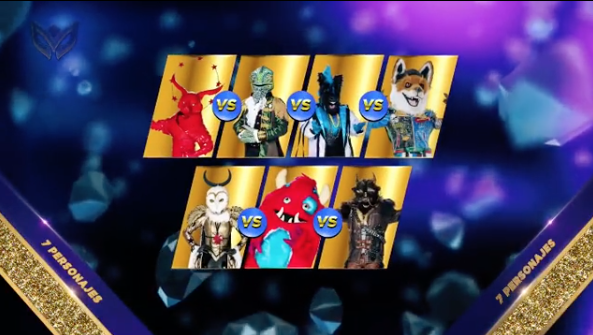 Estas fueron las celebridades desenmascaradas del capítulo 7 de ¿Quién es la máscara?