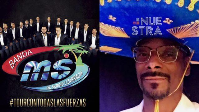 Snoop Dogg y Banda MS preparan una canción juntos pronto