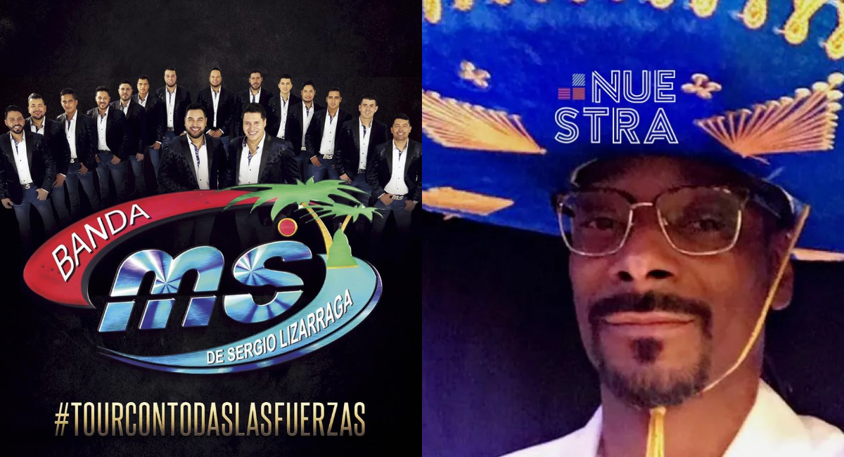 Snoop Dogg y Banda MS preparan una canción juntos pronto